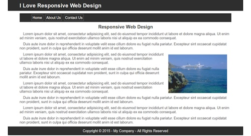sample website